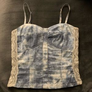 Tops - cropped jean top